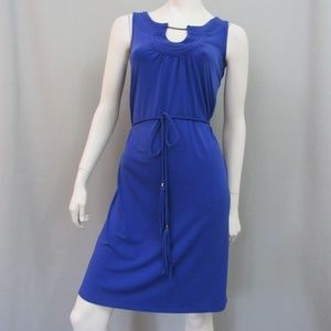 Dana Buchman Dress Blue Sundress